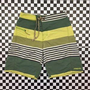 Patagonia Wavefarer Striped Board Shorts